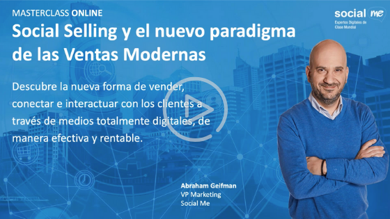 Video MasterClass Onlie Social Selling